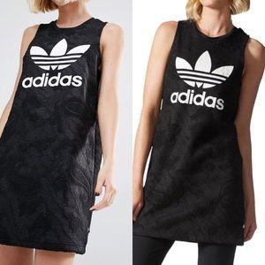 Adidas Originals Bonded Lace Dress Sz L NWT